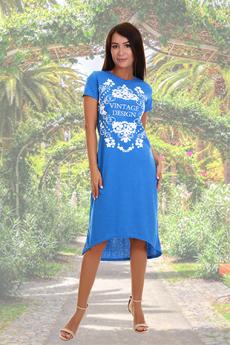 Женское домашнее платье Натали