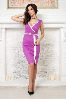 Платье цвета фуксия Angela Ricci