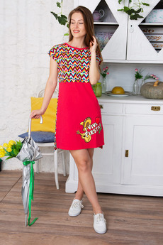 Платье Красная Ветка