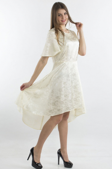 Платье цвета слоновая кость Bast